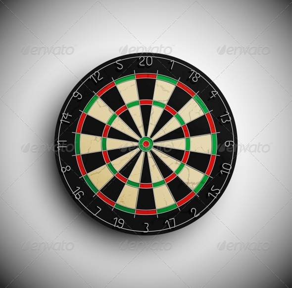 GraphicRiver Darts Board 4925863