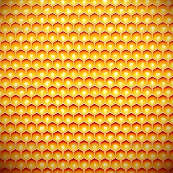 GraphicRiver Honey Comb 4925870