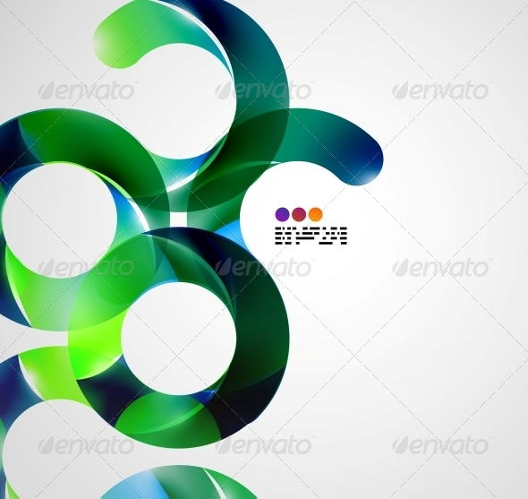 GraphicRiver Colorful Abstract Swirl Background 4925974