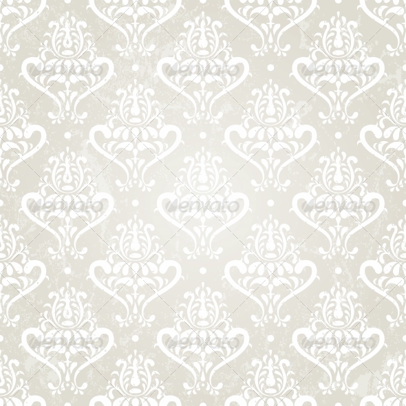 GraphicRiver Silver Vintage Wallpaper 4926006
