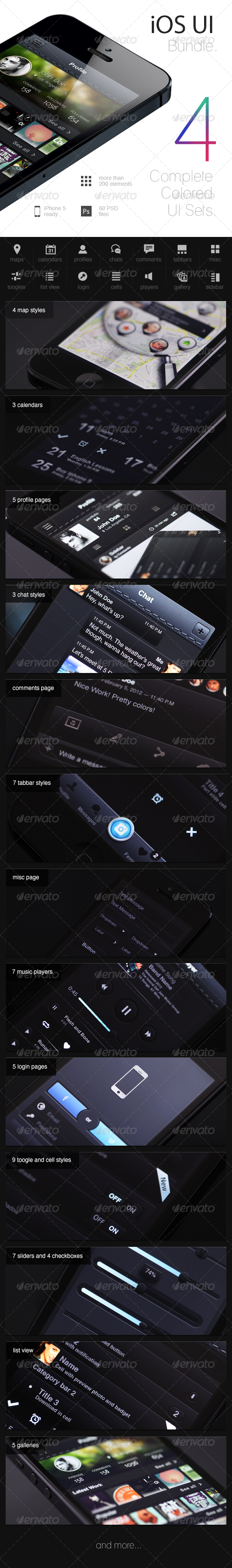 GraphicRiver iOS UI Bundle 4926112