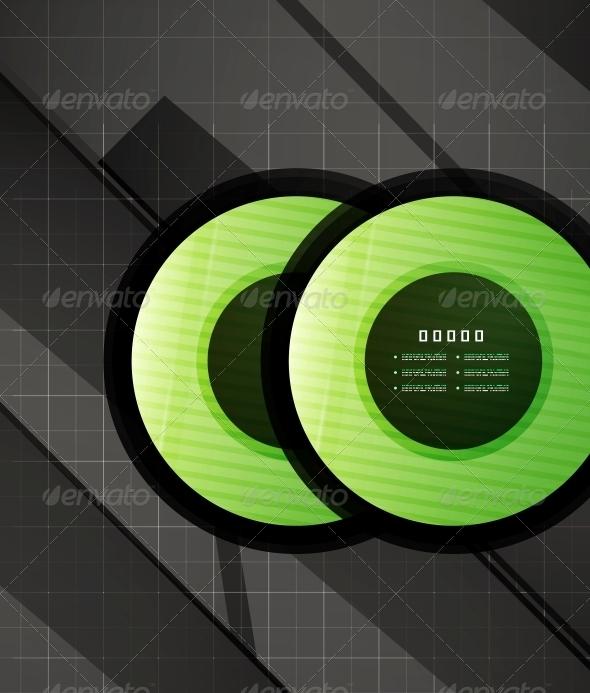 GraphicRiver Hi-Tech Glossy Futuristic Shapes 4926135