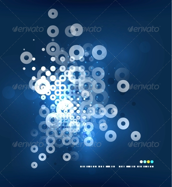 GraphicRiver Electricity Light Circles 4926500