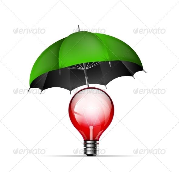 GraphicRiver Creative New Idea Protection Concept 4927470