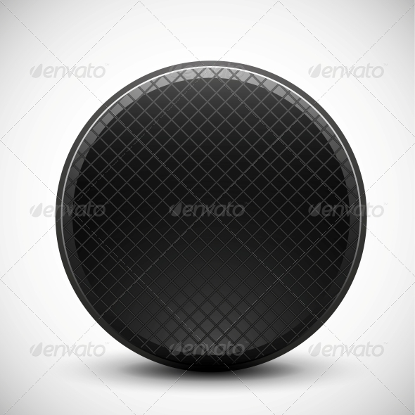 GraphicRiver Dark Circle Made of Metal Grid Design 4927502