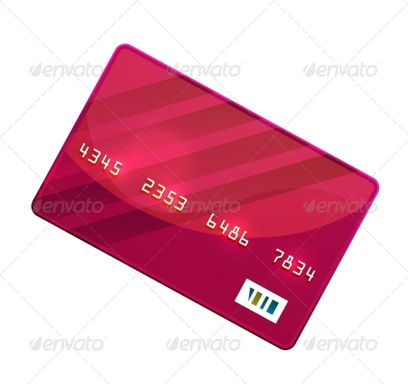 GraphicRiver Color Credit Card Vector 4927517