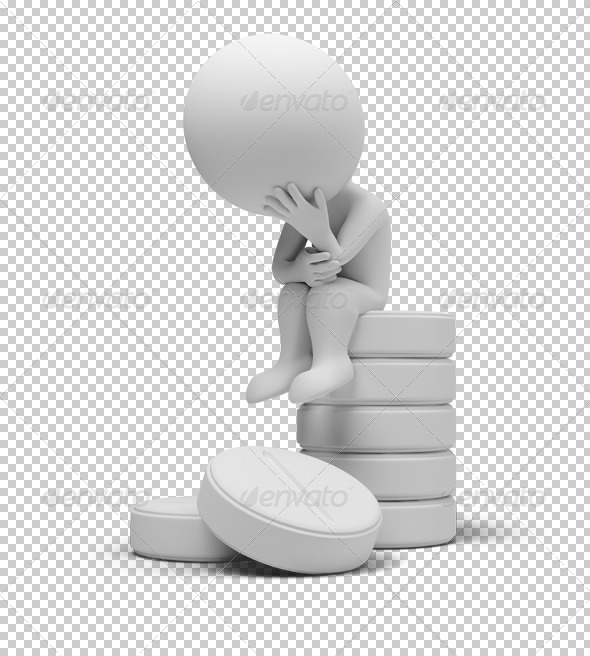 GraphicRiver 3D small people on tablets 4927795