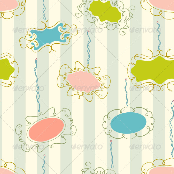 GraphicRiver Photo Frames Seamless Pattern 4928131