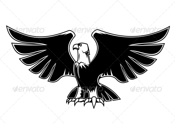 GraphicRiver Majestic Eagle with Open Wings 4928187