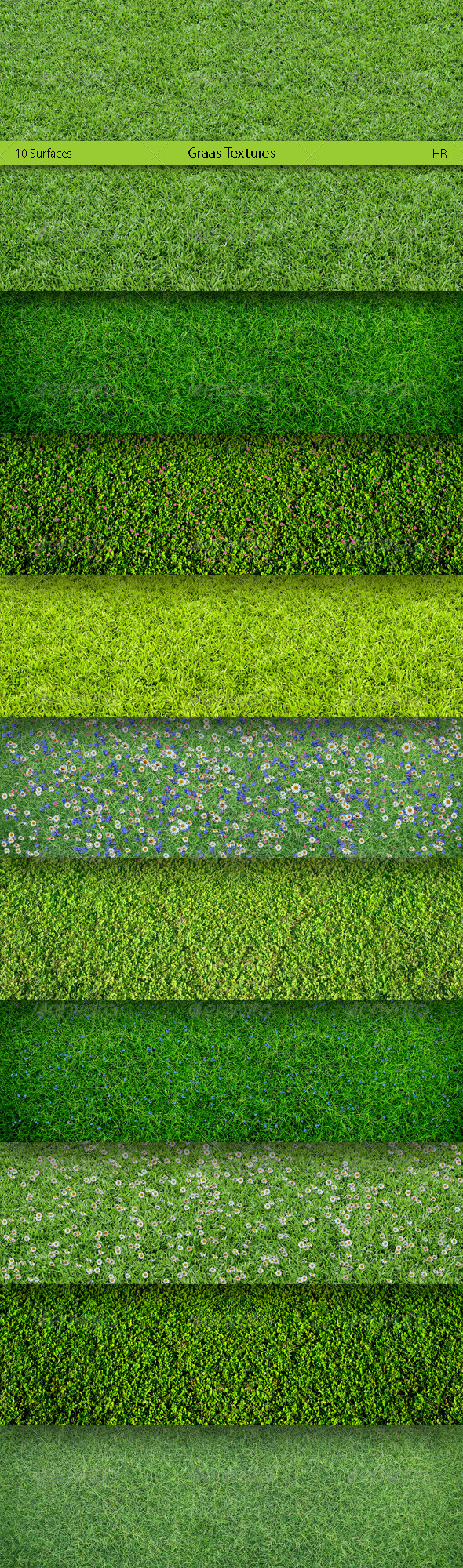 Grass Surfaces Texture Backgrounds