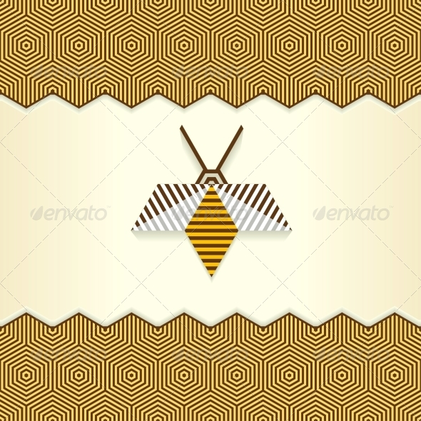 GraphicRiver Abstract Geometrical Bee 4928852
