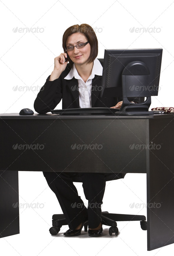 Phone Call  - Stock Photo - Images
