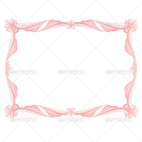 GraphicRiver Pink Frame 4929519
