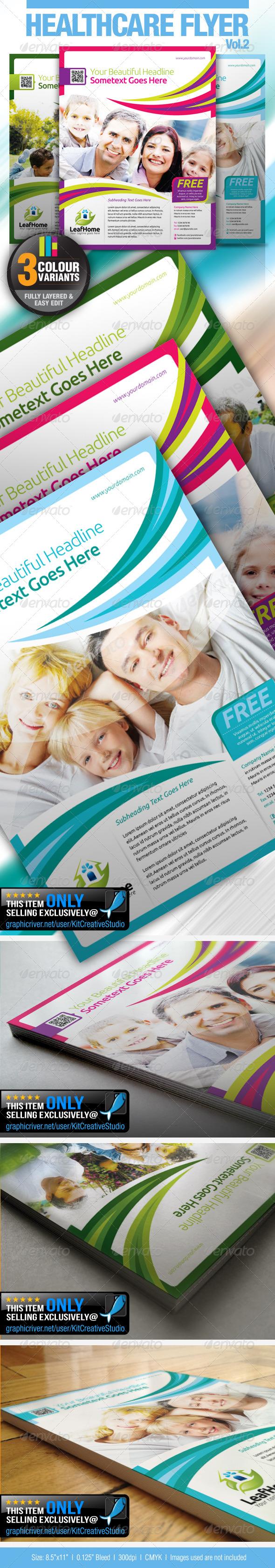 GraphicRiver Healthcare Flyer Vol.2 4929536