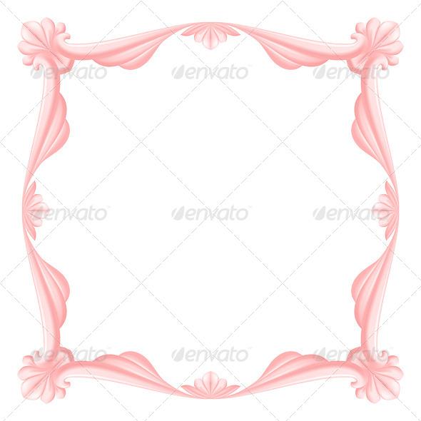 GraphicRiver Pink Frame 4929599
