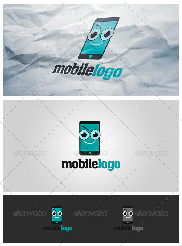GraphicRiver Mobile Object Logo 4266558