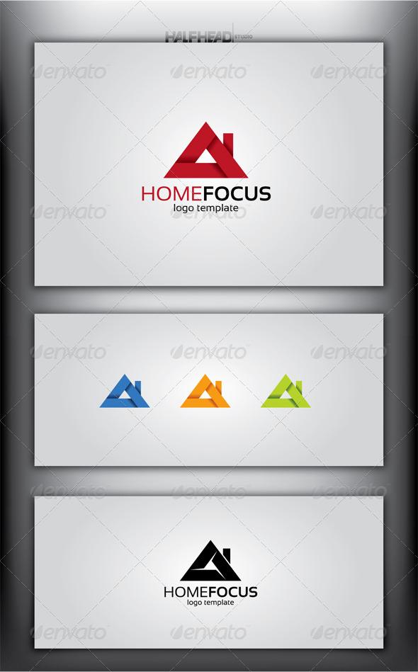 GraphicRiver HomeFocus Logo Template 4929669
