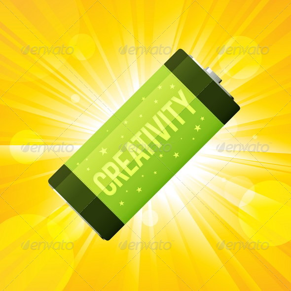 GraphicRiver Creativity Battery 4929783