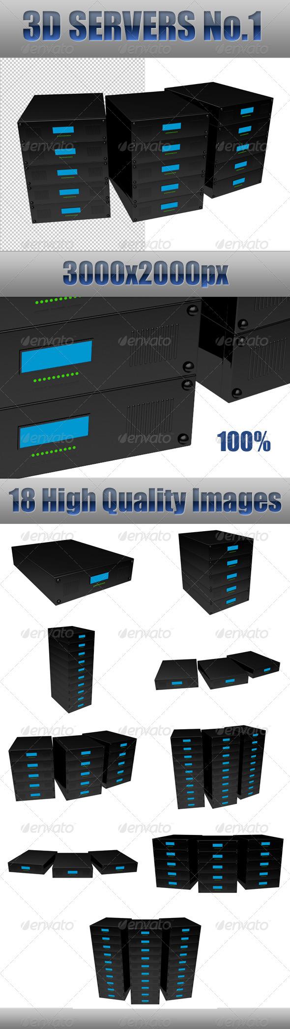 3D Servers No 1