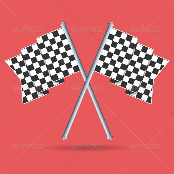 GraphicRiver Race Flags 4929964