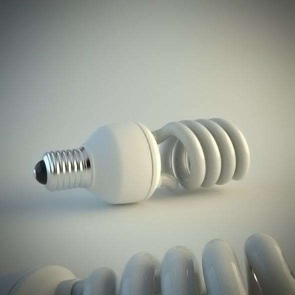 3DOcean Energy Saving Light Bulb 4930239