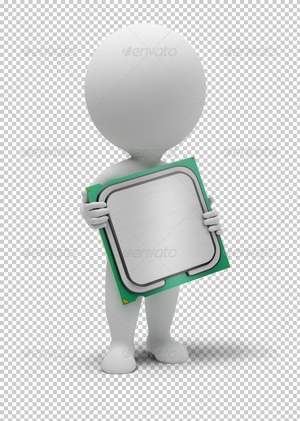 GraphicRiver 3D small people processor 4930335