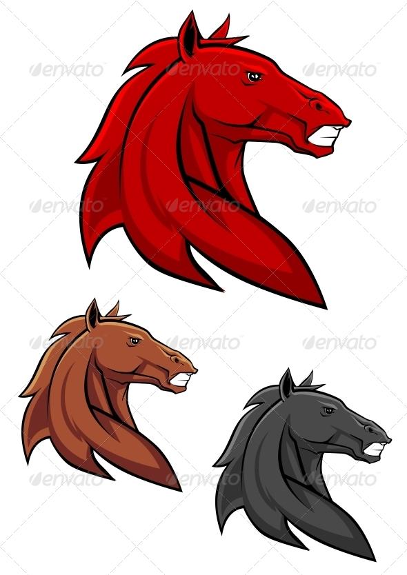 GraphicRiver Powerful Stallion 4930357