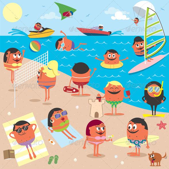 GraphicRiver Beach 4930749