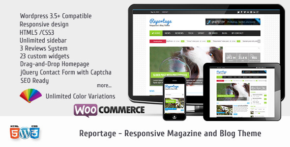 Reportage - Magazine & Blog Theme