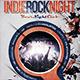 Indie Rock Festival / Concert / Flyer / Poster - GraphicRiver Item for Sale