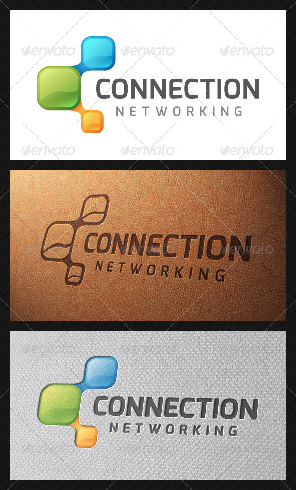 GraphicRiver Connection Logo Template 4931465