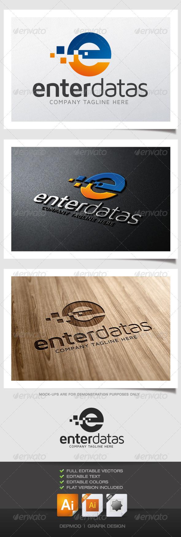 GraphicRiver Enter Datas Logo 4931552