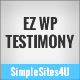 EZ WordPress Testimonials - WorldWideScripts.net Item para sa Sale