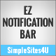 EZ Notification Bar - WorldWideScripts.net Item para sa Sale