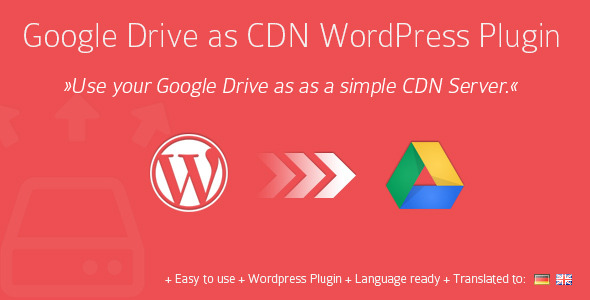 CodeCanyon Google Drive As WordPress CDN Plugin 4931801