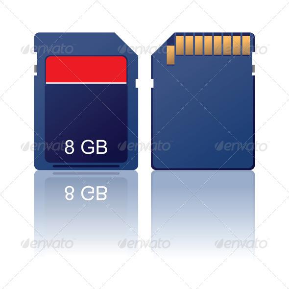 GraphicRiver Memory Card 4931933