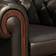 Leather ArmChair - 3DOcean Item for Sale
