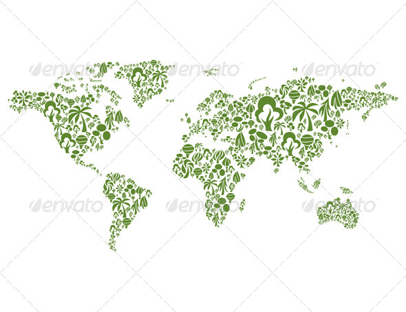 GraphicRiver Tree Map 4932984
