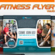 Fitness Flyer Vol.10 - GraphicRiver Item for Sale