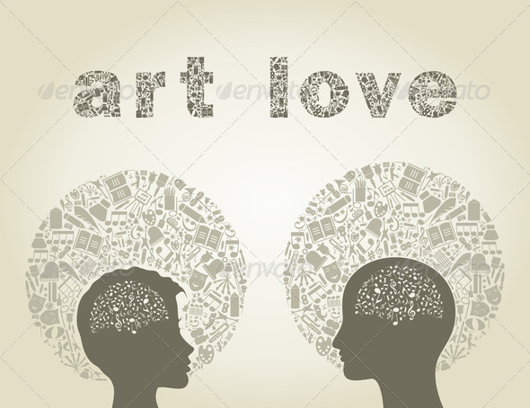 Art love - Stock Photo - Images