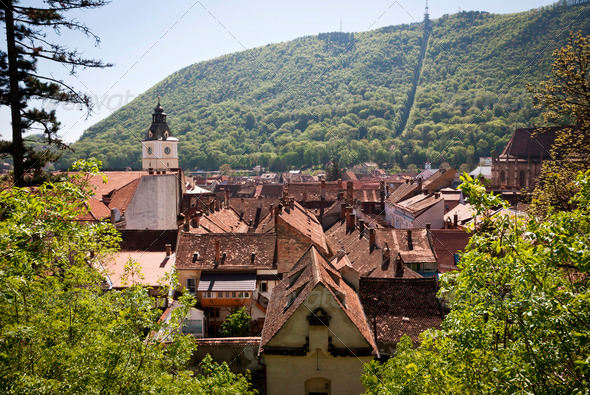 Brasov, Romania - Stock Photo - Images