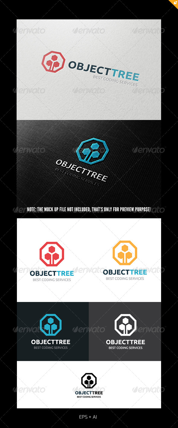 GraphicRiver Object Tree Logo 4933982
