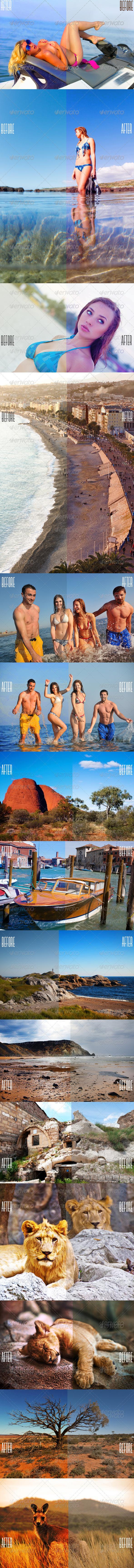 GraphicRiver Photoshop Color Enhance Pro 4934190