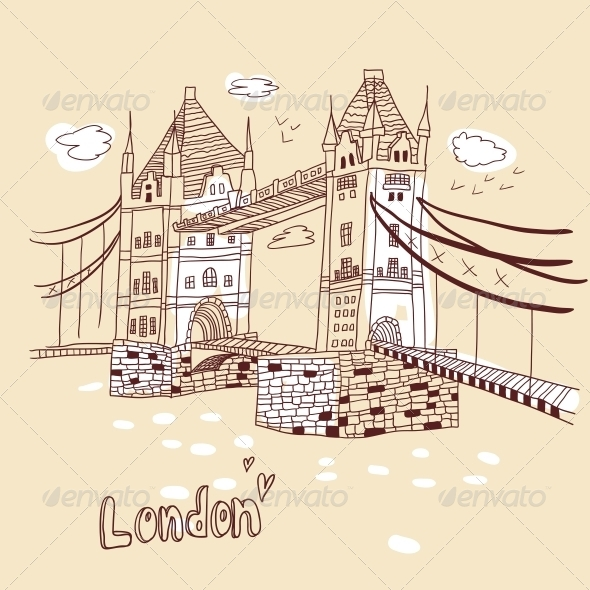 GraphicRiver Big Ben and House of Parliament in London UK 4935326