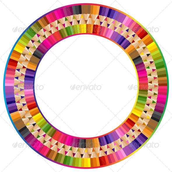 GraphicRiver Round Frame 4935374