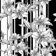 Monochrome Seamless Pattern with Lily Flowers - GraphicRiver Item for Sale