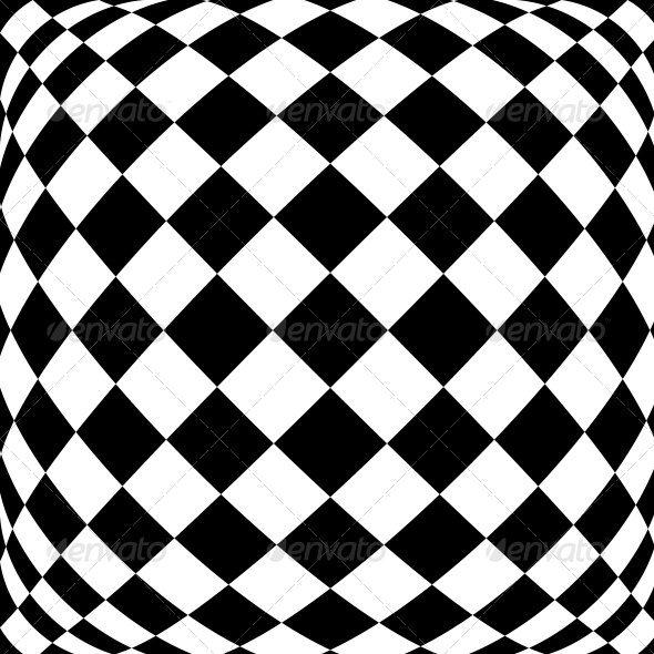 GraphicRiver Black and White Hypnotic Background 4935598