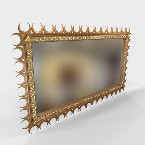 3DOcean Mirror Decorative with Jewellery 4936473