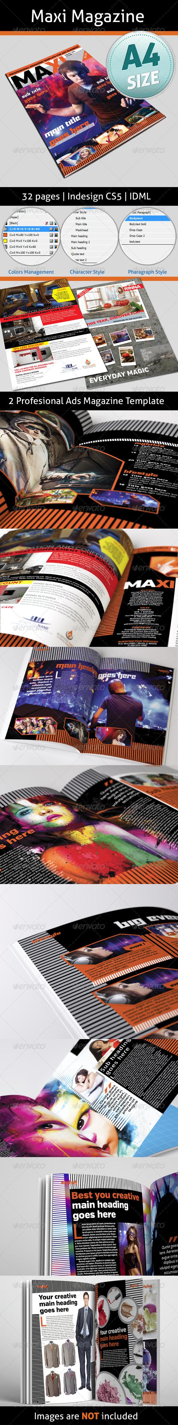GraphicRiver Maxi Magazine 4936662