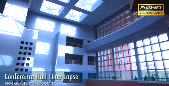 Conference Hall Time Lapse